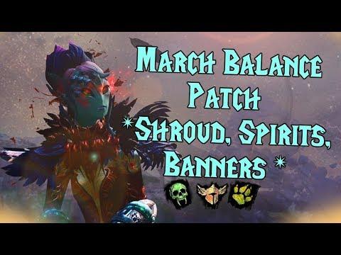 Guild Wars 2 - Harbinger Shroud, Spirits, Shouts OH MY! l March Balance Patch l thumbnail