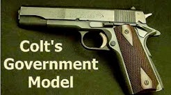 Colt's Government Model 45 ACP 1911 Pistol