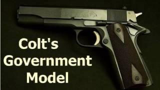 colt s government model 45 acp 1911 pistol