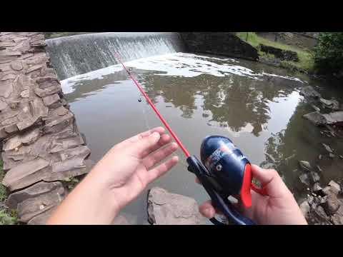 Spider-Man Fishing Rod Challenge!! (Crazy Catches)