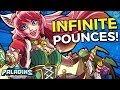 INFINITE POUNCE MAEVE! Merrymaker Maeve Skin Gameplay and Build! (Paladins 1.9 Update - PTS)