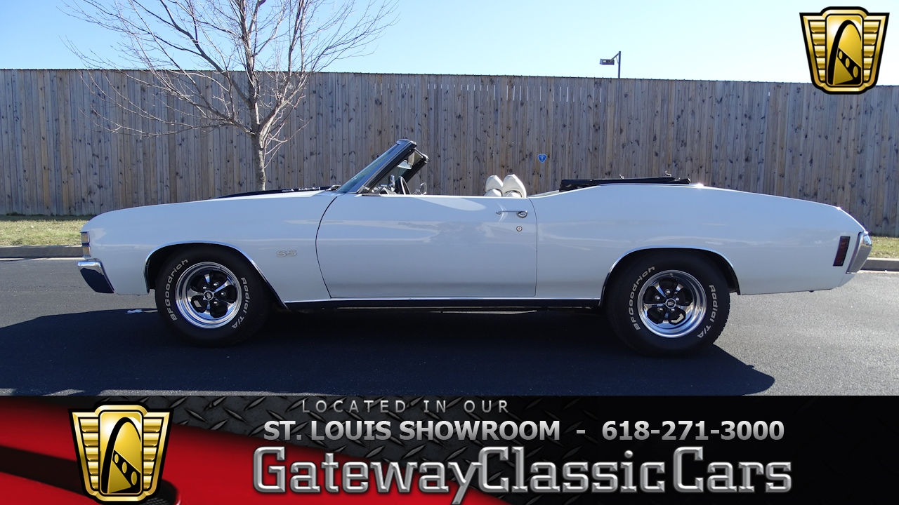 1972 Chevrolet Chevelle SS Tribute Convertible Stock #7190 Gateway ...