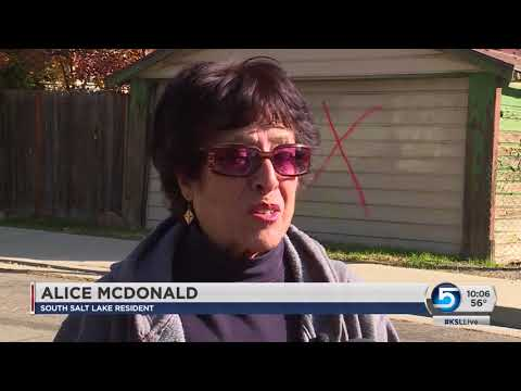 South Salt Lake neighborhood vandalized with vulgar graffiti