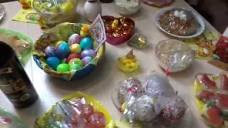 Праздничный стол на Пасху