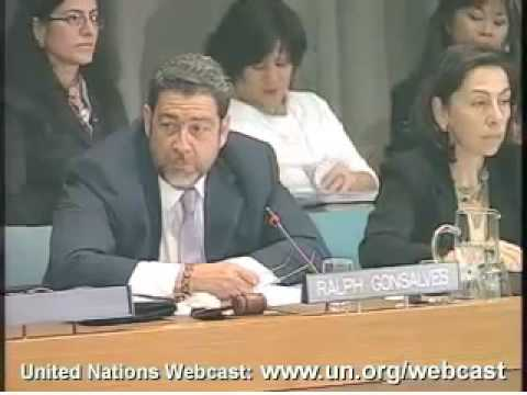 PM Gonsalves Chairing UN Roundtable on Africa's Development Needs