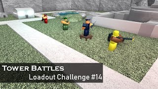 RGBY | Loadout Challenge 14 | Tower Battles [ROBLOX]