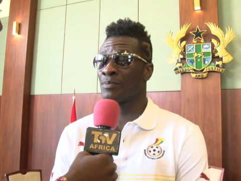 INTERVIEW WITH ASAMOAH GYAN