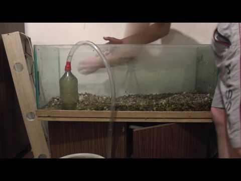 Как вымыть аквариум полностью