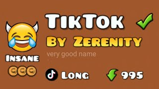TikTok 😂 | Geometry Dash