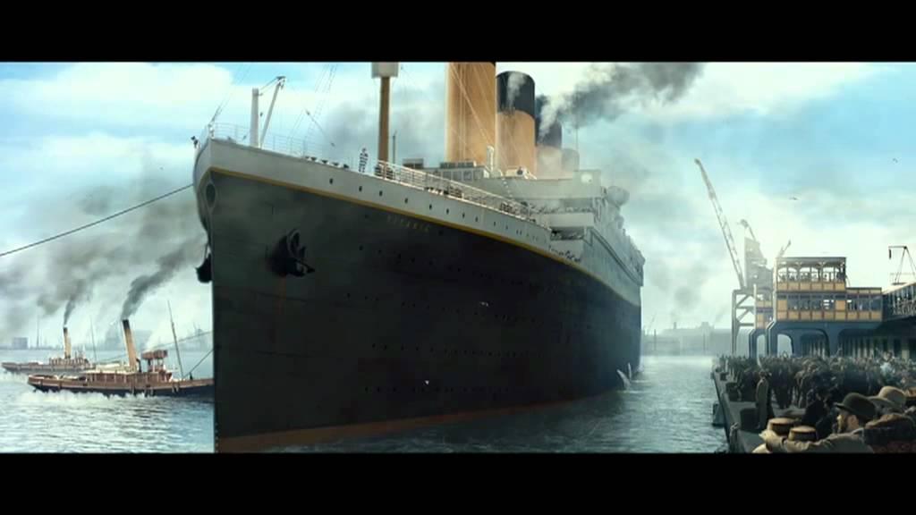 titanic 3d quotleaving portquot clip youtube