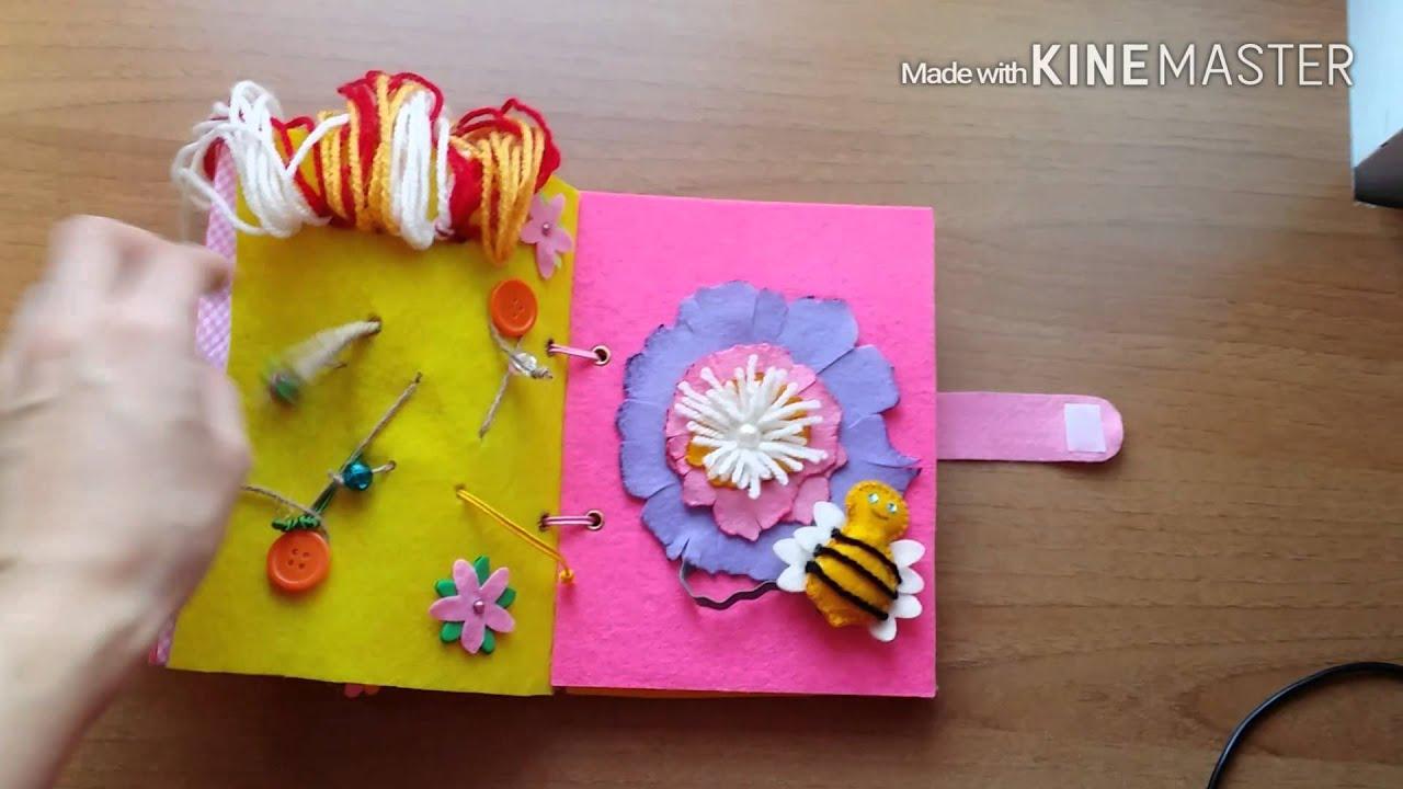 Preferenza Quiet Book - Libro sensoriale in feltro! - YouTube JG37