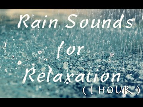 Rain Sounds for Relaxation / Falling Asleep ( 1 hour ) : ASMR