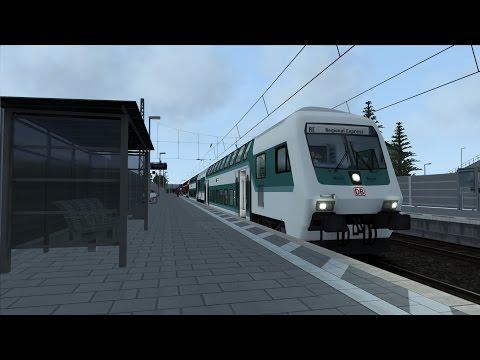 Lets Play Train Simulator 2015 Karlsruhe-Mannheim KBS 700 Rheinbahn (Folge 52)