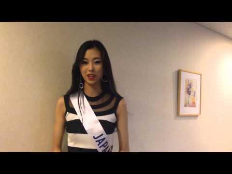 Interview: Miss international Japan - Arisa Nakagawa