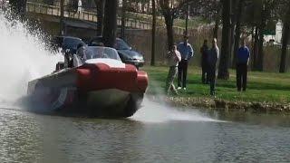 Тест-драйв. Снегоболотоход MONTERO - вездеход амфибия для охоты и рыбалки Российского производства.