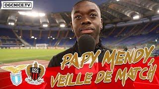 Papy Mendy avant Lazio - Nice