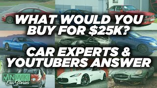 What's the best sports car to buy for $25k?
