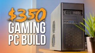 Ultimate $350 Fortnite Gaming PC Build - 60 FPS at 1080p!