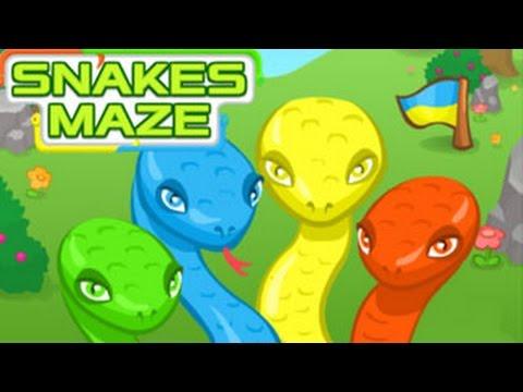 Snakes Maze Walkthrough