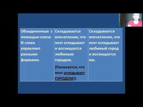 14. Речевые и грамматические ошибки (ЕГЭ по русскому языку)