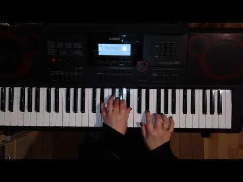 Maywood «Ik wil alles met je delen» (кавер на синтезаторе)
