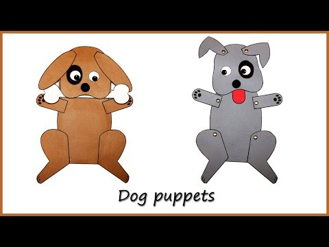 Make a Dog Paper Bag Puppet