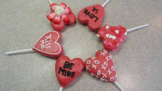 Valentine's Day Heart Cake Pops