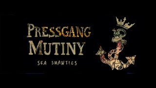 Pressgang Mutiny Sea Shanty Showcase for Folk Alliance