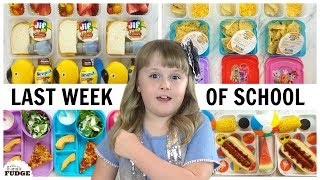 fun lunch ideas for the last week of school bunches of lunches