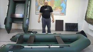 Обзор надувной моторной лодки Expeditor-300T