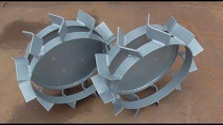 Как сделать грунтозацепы для мотоблока. Процесс изготовления.(, 2016-11-21T04:14:20.000Z)