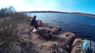 рыбалка на реке Жабня (присутствует не цензурные выражения)