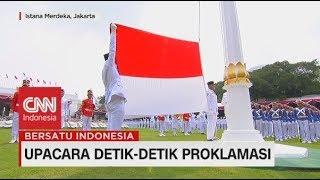Menegangkan! Detik-Detik Pengibaran Bendera di Istana Merdeka, Upacara 17 Agustus 2019