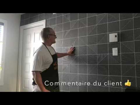 Rev tement mural int rieur pose installation - Revetement mur interieur ...