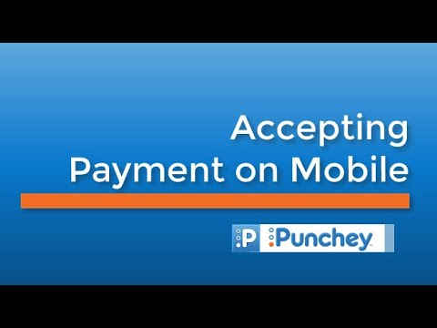 Accepting Payment on Mobile
