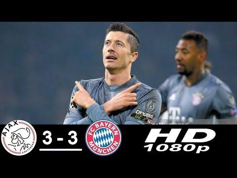 Ajax vs  Bayern Munich 3-3 Champions League 12/12/2018 HD