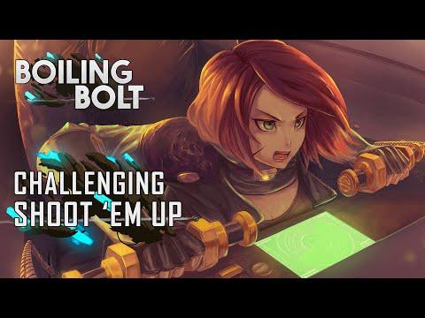 Boiling Bolt - 2 Directions Shoot em Up |