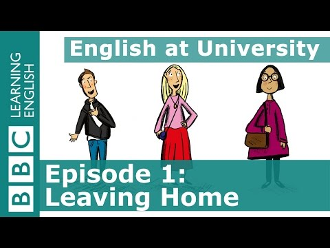 English at University: 1 - Learn phrases to say to people who are going away