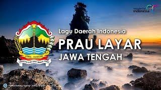 Prau Layar - Lagu Daerah Jawa Tengah (Karoke, Lirik dan Terjemahan)