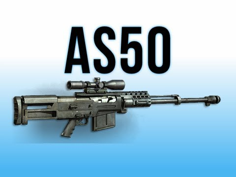 MW3 In Depth - AS50 Sniper Rifle