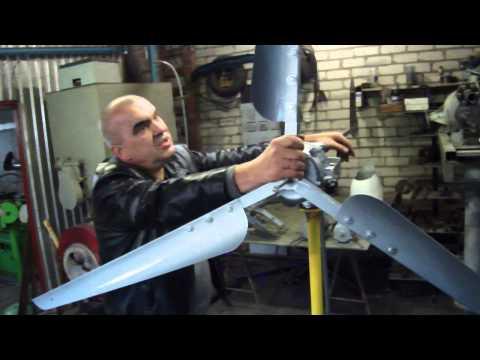 видео: dscf1102  Продолжения фильмао пособии для людей самостоятельно желающих изготовить ветряк