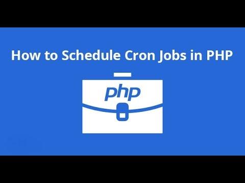 Create A PHP Cron Job On Windows 7