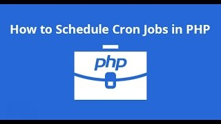 Create a PHP cron job on Windows 7 Mp3