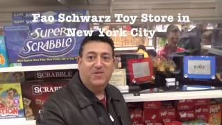 The Fao Schwarz Toy Store In New York City...The Most Expensive Toys In The World