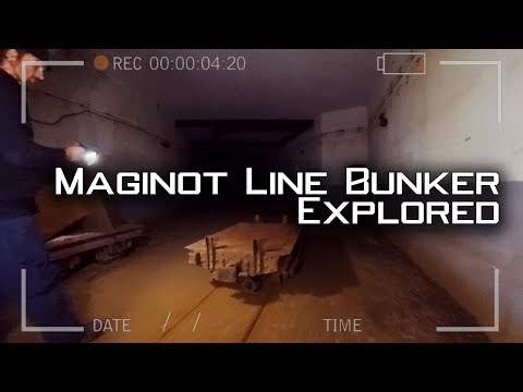 ABANDONED Maginot Line BUNKER explored - Grand Ouvrage