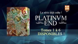 bande annonce de l'album Platinum End Vol.6