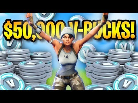 THIS PERSON WON 50,000 V-BUCKS! | Fortnite Battle Royale