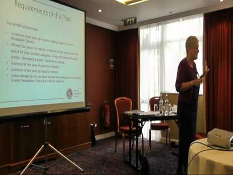 GOsC Revalidation Pilot Workshop Part 3 - Presenting Your Evidence