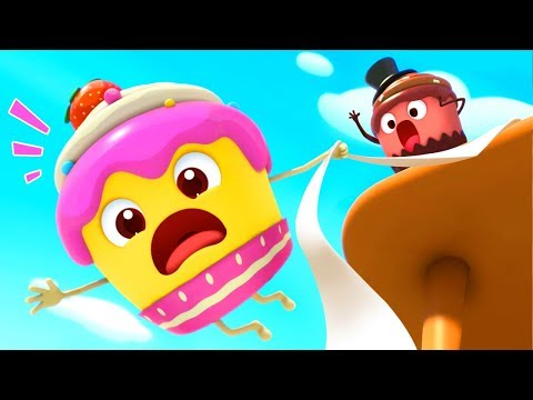 Strawberry Cupcake and Friends  Learn Fruits Color Song  Nursery Rhymes  Kids Songs  BabyBus