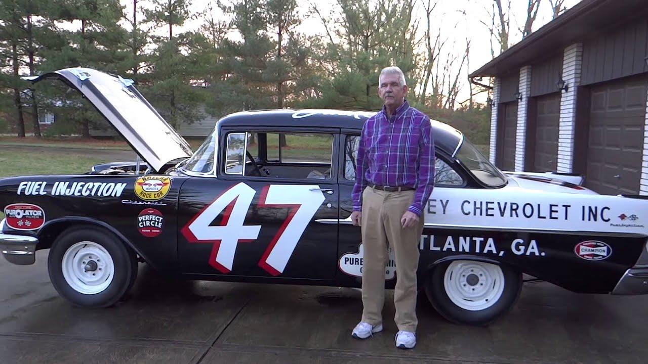 Black Widow Chevy >> 1957 Black Widow JACK SMITH Car #47 - G. Swartz - YouTube